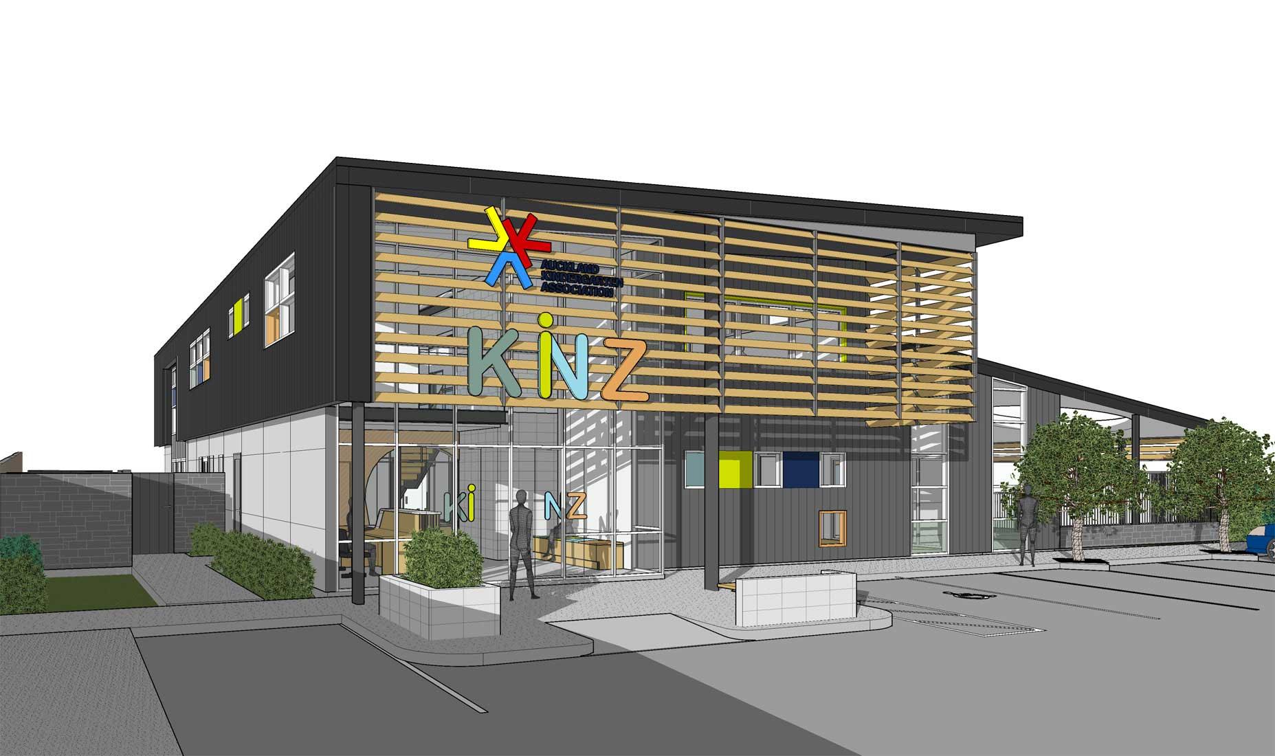 Kindergarten interior design image in 3d - Kinz Pt Chev 1 East 3d Web